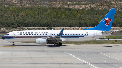 A picture of B1402 - Boeing 73781B - China Southern Airlines - © Rumic Wong