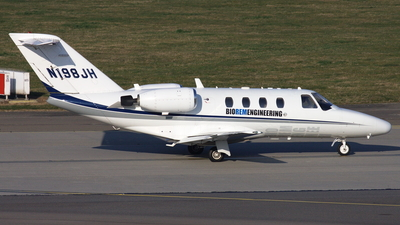 N198JH - Cessna 525 CitationJet 1 - Private