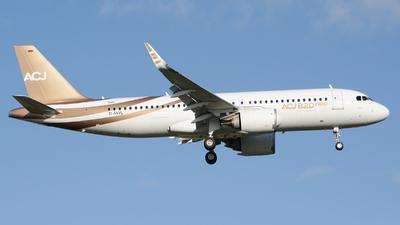 D-AVVL - Airbus A320-251NCJ - Acropolis Aviation