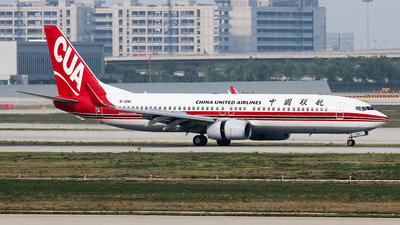 A picture of B1281 - Boeing 73789P - China United Airlines - © YangZhang