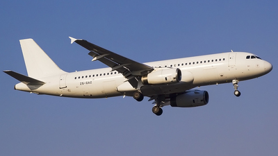 ZS-GAZ - Airbus A320-231 - Global Aviation