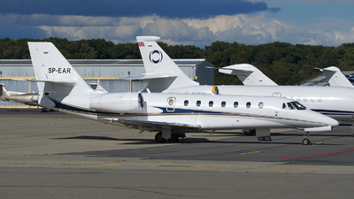 SP-EAR - Cessna 680 Citation Sovereign - Blue Jet