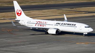 JA331J - Boeing 737-846 - JAL Express