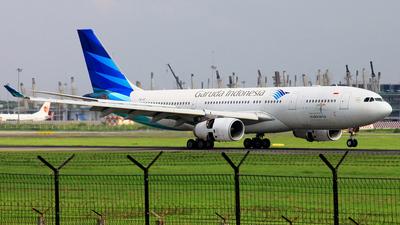 PK-GPI - Airbus A330-243 - Garuda Indonesia