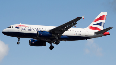 G-EUPU - Airbus A319-131 - British Airways