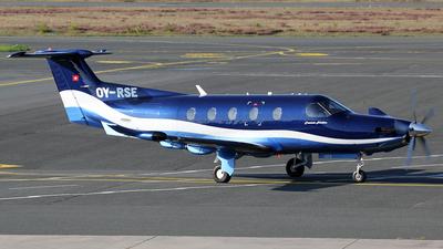 OY-RSE - Pilatus PC-12/47E - Fournais Aviation