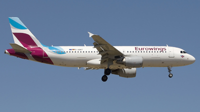D-ABNT - Airbus A320-216 - Eurowings