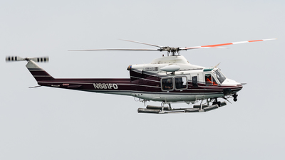 N681FD - Bell 412EP - United States - City of Chicago Fire Department