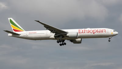 A picture of ETAPY - Boeing 77736N(ER) - Ethiopian Airlines - © Fly your dreams