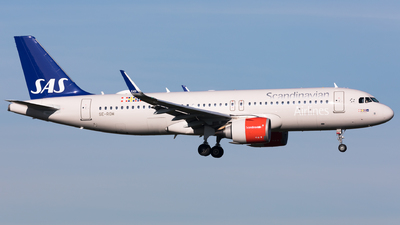 A picture of SEROM - Airbus A320251N - SAS - © Sierra Aviation Photography
