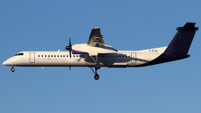 A picture of GECOK - De Havilland Canada Dash 8400 - Flybe - © n94504