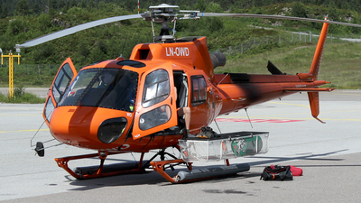LN-OWD - Airbus Helicopters H125 - Nord Helikopter