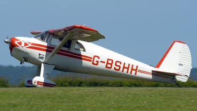 G-BSHH - Luscombe 8E Silvaire Deluxe - Private