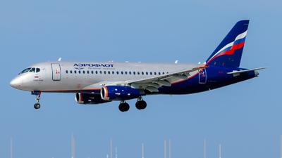 A picture of RA89108 - Sukhoi Superjet 10095B - Aeroflot - © Daniel Nagy