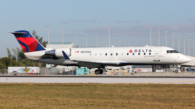 N972EV - Bombardier CRJ-200ER - Delta Connection (ExpressJet Airlines)