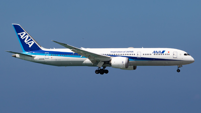 A picture of JA830A - Boeing 7879 Dreamliner - All Nippon Airways - © H.Hayashi