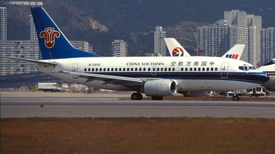 B-2915 - Boeing 737-5Y0 - China Southern Airlines