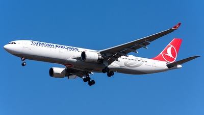 A picture of TCJOK - Airbus A330303 - Turkish Airlines - © Aleksandr Alekhichev