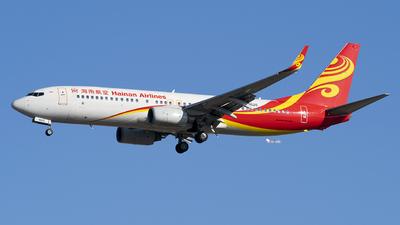 B-5520 - Boeing 737-84P - Hainan Airlines
