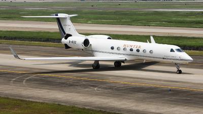 B-8132 - Gulfstream G550 - Deer Jet