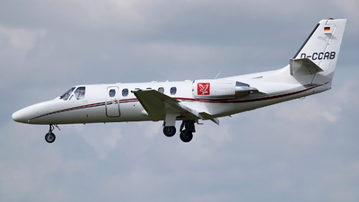 D-CCAB - Cessna 550B Citation Bravo - JK Jetkontor