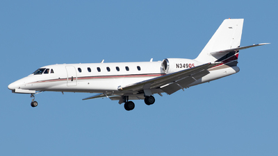 N349QS - Cessna 680 Citation Sovereign - NetJets Aviation