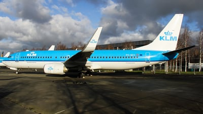 PH-BXY - Boeing 737-8K2 - KLM Royal Dutch Airlines