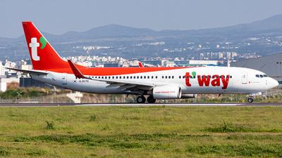 HL8070 - Boeing 737-8AS - T'Way Air