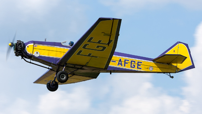 G-AFGE - British Aircraft Swallow II - Private