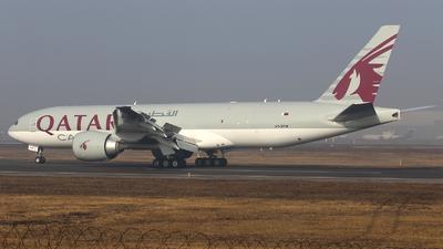 A picture of A7BFM - Boeing 777FDZ - Qatar Airways - © Frolov Sergey