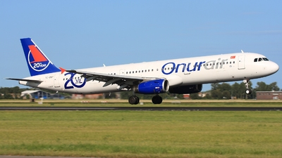 TC-OBF - Airbus A321-231 - Onur Air