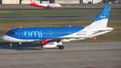 G-DBCD - Airbus A319-131 - bmi British Midland International