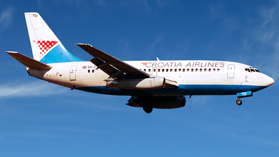 9A-CTD - Boeing 737-230(Adv) - Croatia Airlines