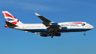 G-CIVA - Boeing 747-436 - British Asia Airways