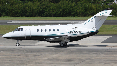 N417TM - Raytheon Hawker 800XP - Private