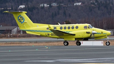 LN-BSD - Beechcraft B200GT Super King Air - Babcock Scandinavian AirAmbulance