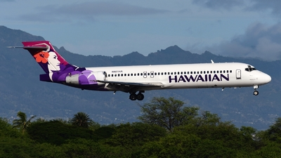 N481HA - Boeing 717-22A - Hawaiian Airlines