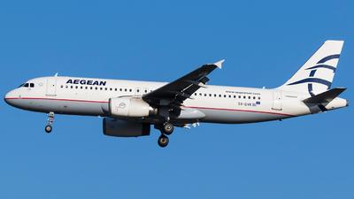 SX-DVK - Airbus A320-232 - Aegean Airlines
