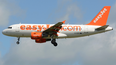 G-EZFU - Airbus A319-111 - easyJet