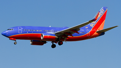 N7702A - Boeing 737-7BD - Southwest Airlines