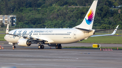 B-6982 - Boeing 737-83Z - Donghai Airlines