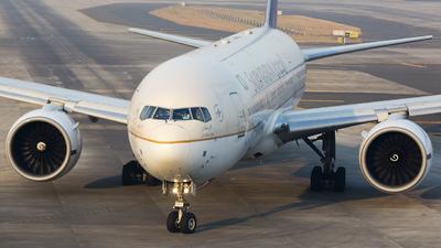 HZ-AKW - Boeing 777-268(ER) - Saudi Arabian Airlines