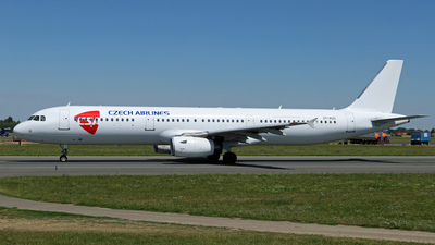 OY-RUU - Airbus A321-231 - CSA Czech Airlines (Danish Air Transport - DAT)