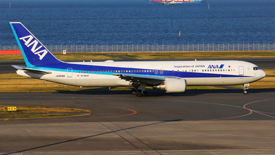 JA606A - Boeing 767-381(ER) - All Nippon Airways (ANA)