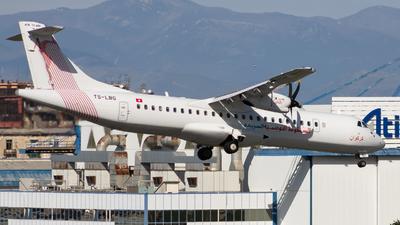 TS-LBG - ATR 72-212A(600) - Tunisair Express