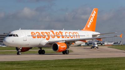 G-EZTA - Airbus A320-214 - easyJet