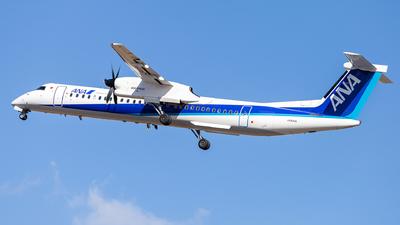JA854A - Bombardier Dash 8-Q402 - Air Nippon Network