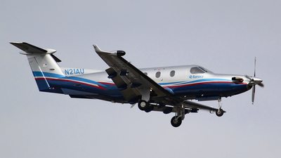 N21AU - Pilatus PC-12/45 - Aurora Flight Sciences