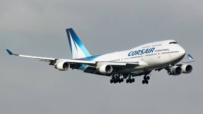 F-GTUI - Boeing 747-422 - Corsair International