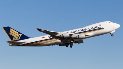 9V-SFO - Boeing 747-412F(SCD) - Singapore Airlines Cargo